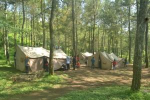 Pendirian Tenda